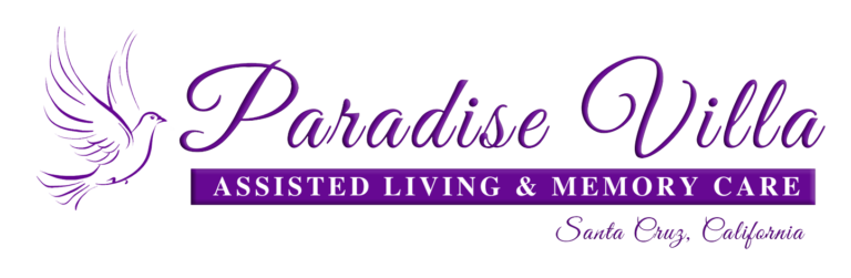 Paradise Villa Assisted Livivng and Memory Care Logo. Paradise Villa is located in Santa Cruz, CA